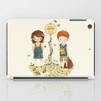 school iPad Cases featuring Back to School by Teagan White