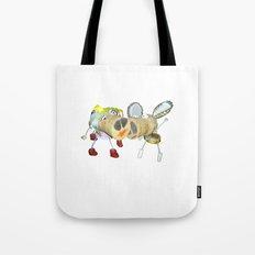 Tipsy Couple Tote Bag