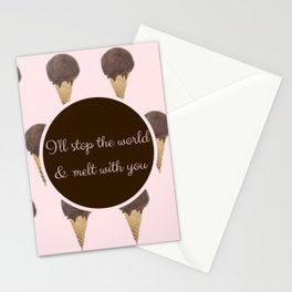 Melt With You (Strawberry) Stationery Cards