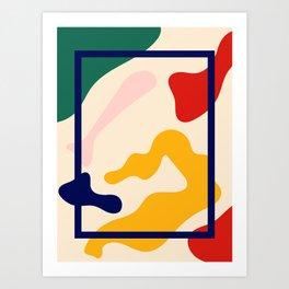 Happy Little Pattern I. Art Print