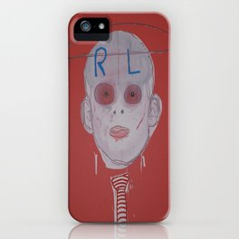 R & L iPhone Case