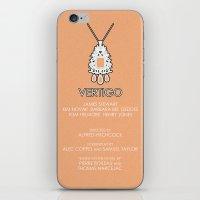 vertigo iPhone & iPod Skins featuring Vertigo by MacGuffin Designs