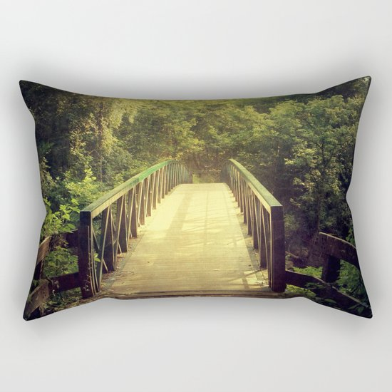 The Journey Starts With a Single Step Rectangular Pillow