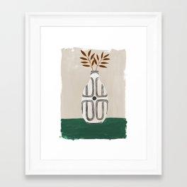 Emile Vase Framed Art Print