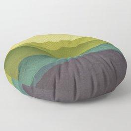 Mountain Colors Floor Pillow