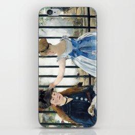 Edouard Manet - Le Chemin de fer (The Railroad) iPhone Skin