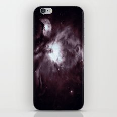 Slate Gray Orion Nebula iPhone Skin