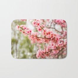 Wonderful Pink Cherry Blossoms at Floriade Bath Mat