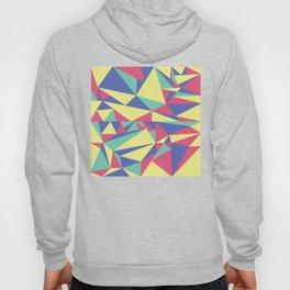 Tri-Color Pattern Hoody