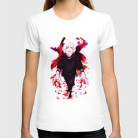 tokyo ghoul T-shirts featuring Kaneki Tokyo Ghoul 4 by Prince Of Darkness