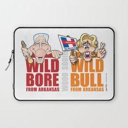 Wild Bill & Hillary Laptop Sleeve