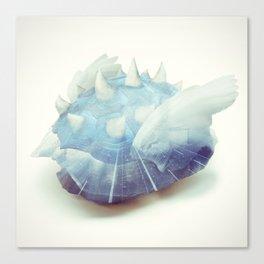 Blue Shell - Kart Art Canvas Print