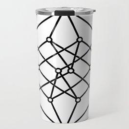 black line, prism art , wallpaper , case for iphone Travel Mug