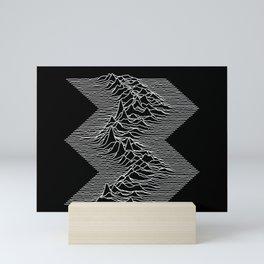 Unknown Diagonal Pleasures Mini Art Print