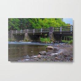 Lehigh Parkway Robin Hood Bridge Metal Print