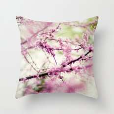 Into a Dream Throw Pillow