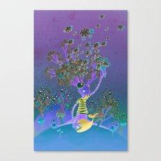 Misty mind Canvas Print