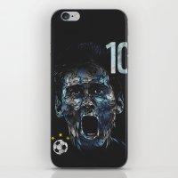 messi iPhone & iPod Skins featuring Messi by dan elijah g. fajardo