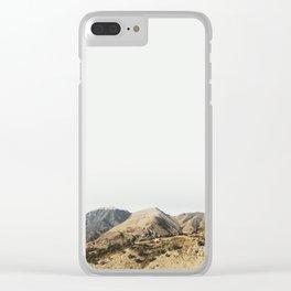 Minimalismo Clear iPhone Case