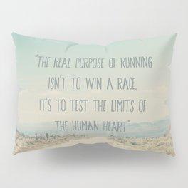 The real purpose of running print Pillow Sham