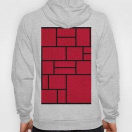 Mondrian Bauhaus Pattern #10 Hoody