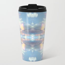 Pastel Sky Metal Travel Mug