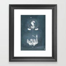 Sick (logo) Framed Art Print