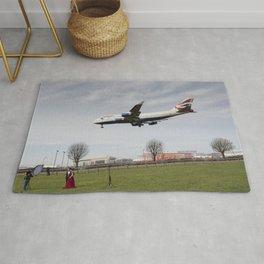 Jumbo Jet Photo Shoot Rug