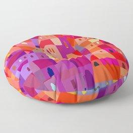Korea Town Floor Pillow