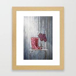 For Rainy days Framed Art Print