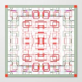 HK tablecloth Canvas Print