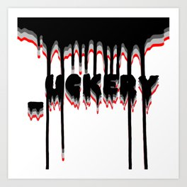 _uckery Art Print