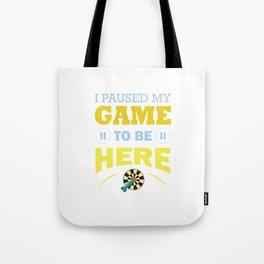 Game playing computer video Fun Addiction gift Tote Bag