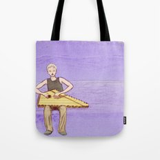 The Lute Player Tote Bag