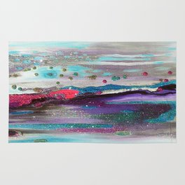 Drippy Waterworld Rug