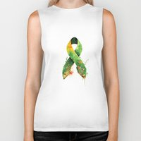 stickers Biker Tanks featuring Nature Ribbon by ErDavid