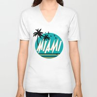 mia wallace V-neck T-shirts featuring MIA  by FRSHCo.