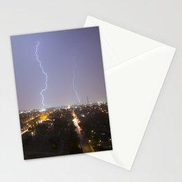 City Lightning. Stationery Cards