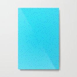 Abstract Pattern XVIII Metal Print