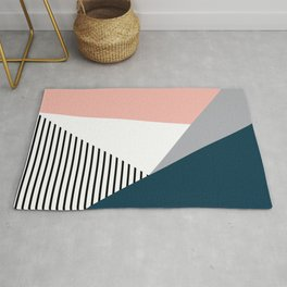 Colorful geometry 2 Rug