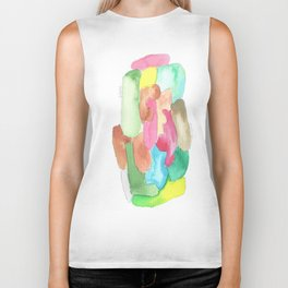 171013 Invaded Space 7 |abstract shapes art design |abstract shapes art design colour Biker Tank