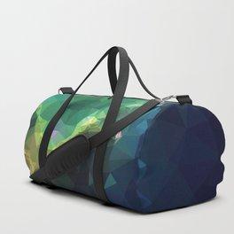 Galaxy low poly 3 Duffle Bag