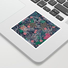 Blossom Blizzard Sticker