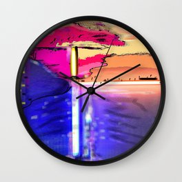 Screening Wall Clock