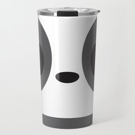Panda Block Travel Mug