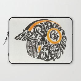 Riders on the Storm Laptop Sleeve