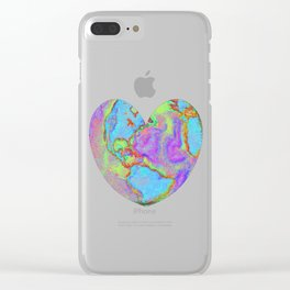 """""""Earthheart"""" Clear iPhone Case"""