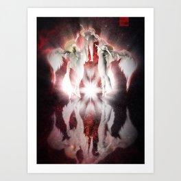 Cosmic Angels Art Print