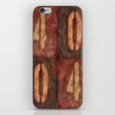 4004 iPhone & iPod Skin