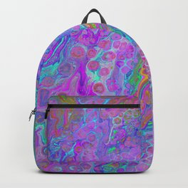 Pink Turquoise Pour Backpack